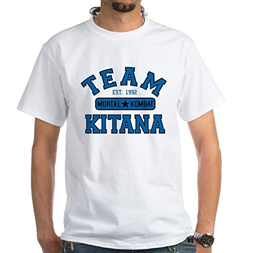 CafePress - Team Mortal Komba T-Shirt - 100% Cotton T-Shirt, White