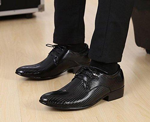 Da Scarpe Sposa Tatuaggio Pizzo 38 3006 Abito NSPX Pochette 3101BLACK in Banchetto 39 Oxford Scarpe black Scarpe Cuoio Abbigliamento Uomo qYw40v4zE