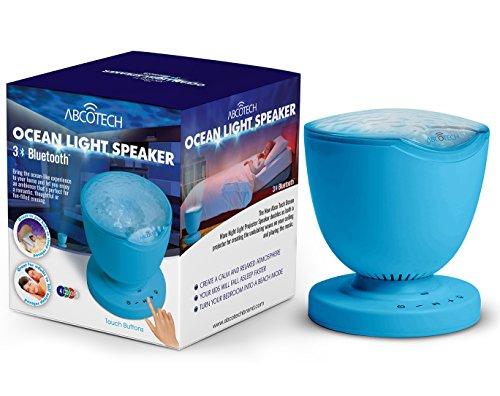 Projector Bluetooth Speaker Multicolor Color blue