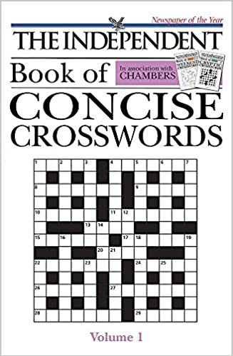 Chambers 'the Independent' Concise Crosswords (v  1