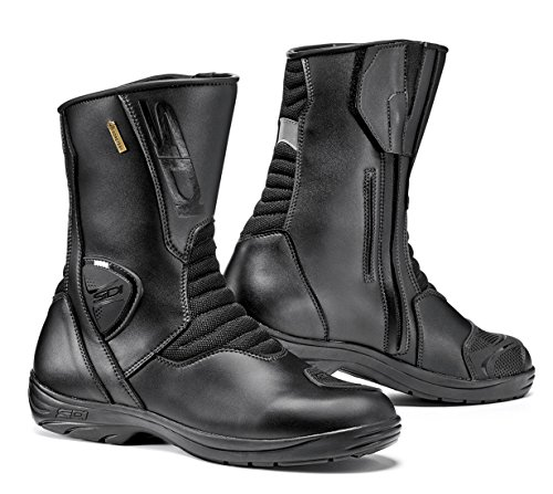 Gore Panel - Sidi Gavia Gore Tex Motorcycle Boots Black US9.5/EU43 (More Size Options)
