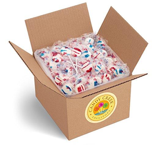 (Candy Creek Patriotic Lollipops, Bulk 5 lb.)