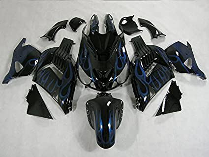 Amazon.com: Moto Onfire ABS Injection Plastic Fairing Kits ...