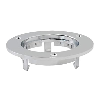 """GG Grand General 87210 2 1/2"""" Round Sealed Light (Clear Plastic Flange Mount Rim for 2-1/2""""): Automotive"""