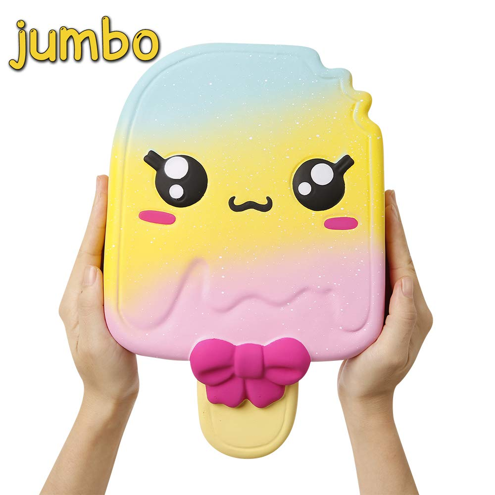 Anboor 8.3 Inches Squishies Jumbo Unicorn Macaron Kawaii Slow Rising Scented Giant Squishies Kids Toy Gift Collection