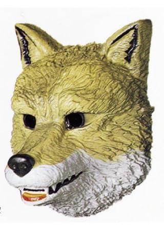 César A521-001 - Máscara de lobo para disfraz