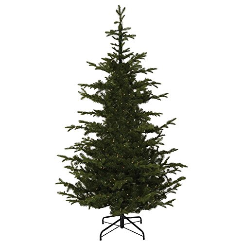 Artificial Christmas Trees Martha Stewart - Martha Stewart Living 7.5 ft. Indoor Norwegian Spruce Hinged Realistic Looking Artificial Christmas Tree, Fire Resistant and Hypoallergenic, UNLIT