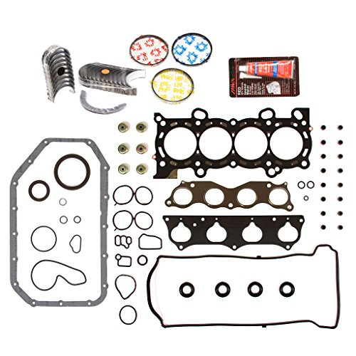 - Evergreen Engine Rering Kit FSBRR4037EVE\0\0\0 Fits 02-06 Honda CR-V 2.4 DOHC K24A1 Full Gasket Set, Standard Size Main Rod Bearings, Standard Size Piston Rings