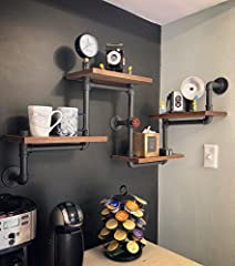 Install 4 Level shelf in any place you need. Beautiful and practical, so that your space orderly and clean. It is suitable for both indoor and outdoor.  Your best choice!
