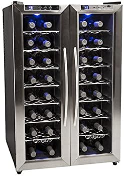 EdgeStar TWR325ESS 32 Bottle Dual Zone Wine Cooler