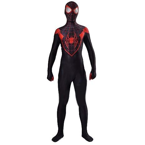 NDHSH Traje de Cosplay de Ultimate Spiderman para Adultos ...