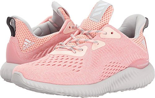 Price comparison product image adidas Women's Alphabounce Em w Running Shoe, Ice Pink/Trace Pink/Grey One, 10.5 Medium US