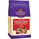 Old Mother Hubbard Classic Crunchy Natural Dog Treats, Extra Tasty Assortment Mini Biscuits, 5-Ounce Bag
