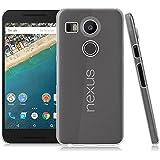 LONVIPI® Cover Custodia LG Nexus 5X NUOVO MODELLO 2015 Clear Trasparente Ultra Sottile Silicone Gel Tpu Morbida smartphone GOOGLE NEXUS 5X LONVIPI®