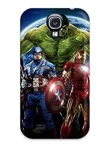New TFchCXr3708SLbFA Avengers Tpu Cover Case For Galaxy S4