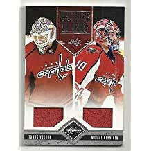 2011-12 LIMITED Brothers in Arms Jersey Tomas Vokoun & Michal Neuvirth #75/199