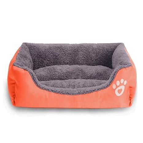 GAESHOW Perro Cama caseta para para Mascotas, Cojines de Interior Sofá Cama para Perro O