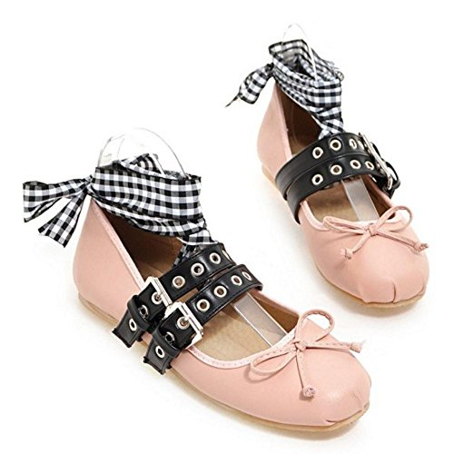 1 Pink Para Plano Tacon Zapatos de Mujer Coolcept g10B8x