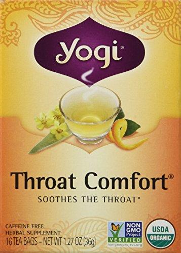 Yogi Tea Throat Comfort -- 16 Tea Bags