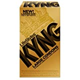 Lifestyles Kyng Gold Condoms, Large, 12-Count, Health Care Stuffs