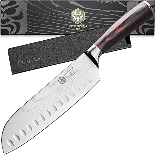 Kessaku 7-Inch Santoku Knife -...