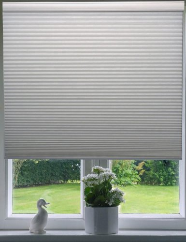 Arlo Blinds Honeycomb White Cell Blackout Cordless Cellular