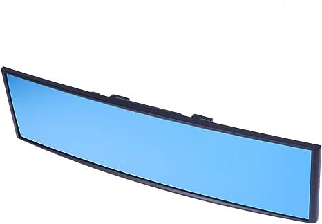 Vosarea Universal Außenspiegel Weitwinkel Antiblendfrei Innenspiegel Für Rückspiegel 300 X 75 Mm Blau Küche Haushalt