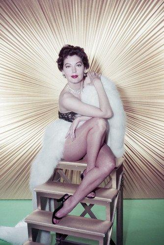 Ava Gardner 24x36 Poster stunning leggy pin-up from Silverscreen