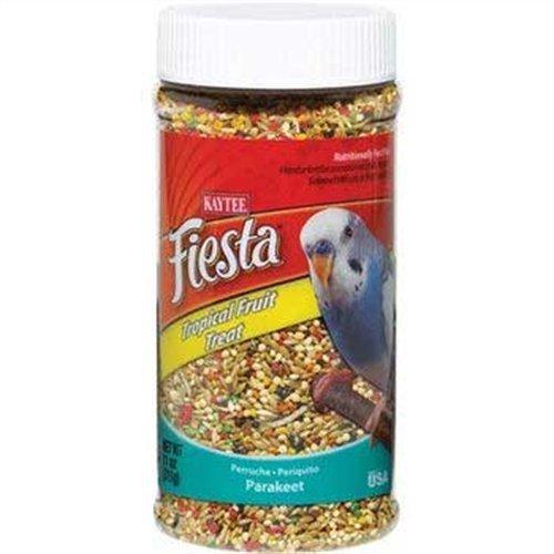 Kaytee Fiesta Tropical Fruit Parakeet Treat, 11-oz jar