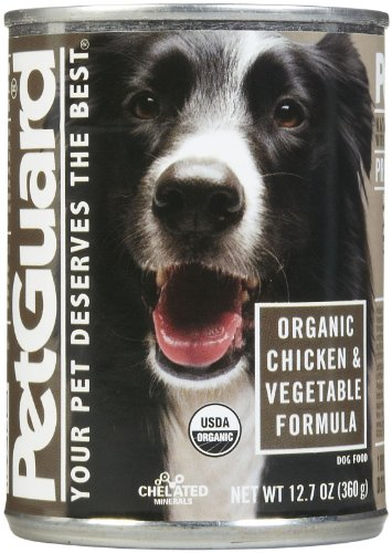 Petguard Dog chicken and Vegetable Organic, 12.7 oz