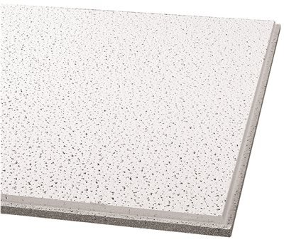 Armstrong Ceiling Tiles; 2x2 Ceiling Tiles - HUMIGUARD Plus Acoustic Ceilings for Suspended Ceiling Grid; Drop Ceiling Tiles Direct from The Manufacturer; FINE FISSURED Item 1732 - 16pc White Tegular
