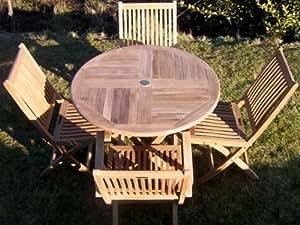 Patio essentials mortimer conjunto de muebles de jard n for Sillas jardin amazon