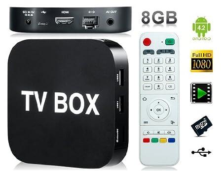 CX 921 Quad Core RK3188 165GHz Android 42 8GB TV Box Black
