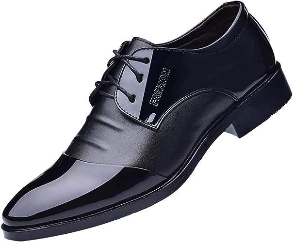 Men Shoes Black Formal Fashion Business