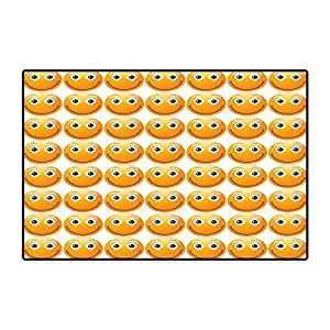 Amazon Com Emoji Door Mats Area Rug Smiley Technologic