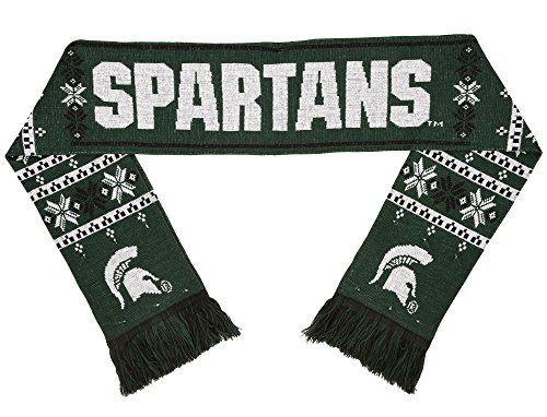 NCAA Michigan State Spartans Light Up Scarf, One Size, Green
