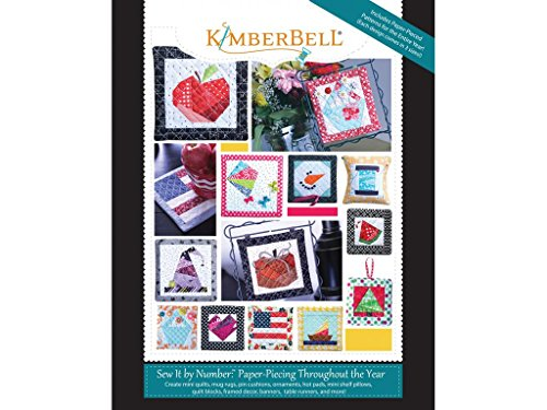 Kimberbell Designs KBDKD712 Sew/Numpaperpiecthrough/Yearbk Kimberbell Paper Piecing Throughout/Year by Kimberbell Designs