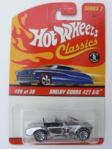 Cobra Silver Wheel - Hot Wheels Classics Series 2 Shelby Cobra 427 S/C Silver