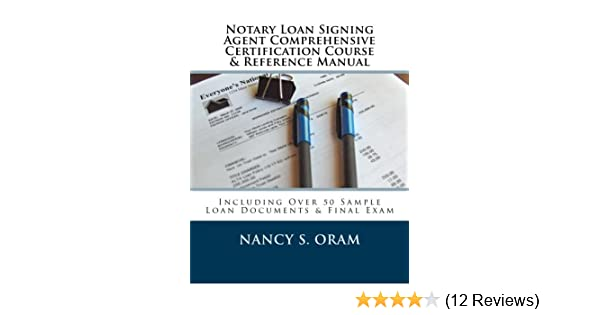 Notary Loan Signing Agent Comprehensive Certification Course ...
