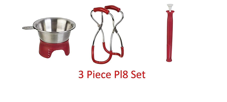 Prepworks by Progressive Stainless Steel Pl8 3-Piece Canning Essentials Kit