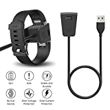 CAVN 2-Pack Compatible Fitbit Charge 2 Charger Cable, Replacement Charging USB Cable Cord Compatible Fitbit Charge 2 Smart Fitness Tracker