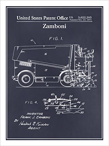 1971-ice-hockey-zamboni-patent-print-art-poster-unframed-blackboard-18-x-24