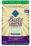Blue Buffalo Basics Limited Ingredient Diet Grain Free, Natural Indoor Mature Dry Cat Food, Turkey & Potato 11-lb Larger Image