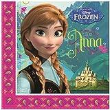 Disney Frozen Elsa & Anna Girls Paper napkins (2-ply) - fuchsia