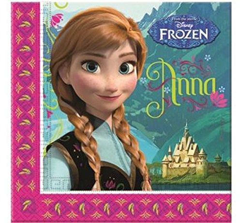 2 opinioni per Disney Frozen- Il regno di ghiaccio Ragazze Paper napkins- fucsia