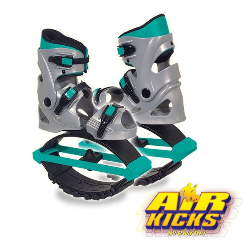 Air Kicks Senior Large For 121-199 Lbs. Includes Step Counter by American Pogo Stick Co.