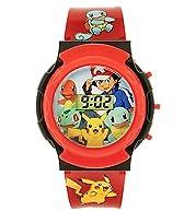 Pokemon LCD Flashing Watch