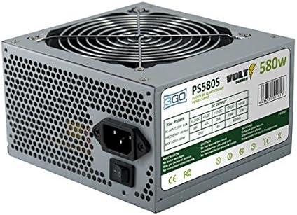 3GO PS580S Unidad de - Fuente de alimentación (580 W, 12 cm, 1 ...