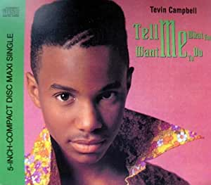 TEVIN CAMPBELL-Tell Me What You Want Me To Do-CDM