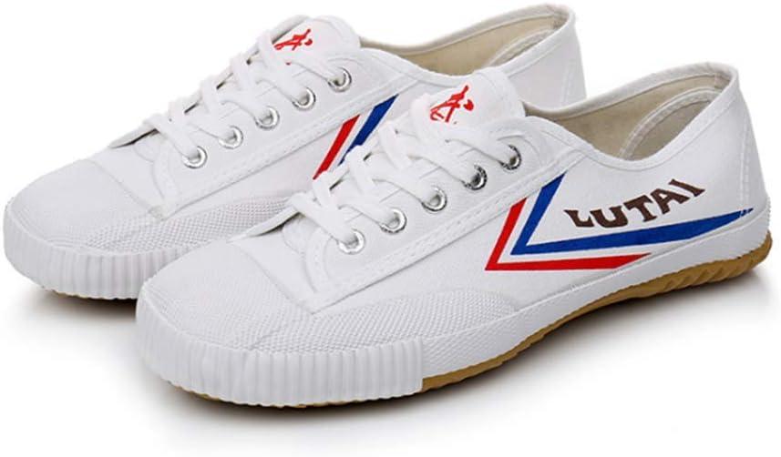 IDE Play Zapatos Casuales para Hombre para Mujer para Hombre de los Zapatos Corrientes Entrenadores Deportivos de la Gimnasia atlética de Jogging al Aire Libre Las Zapatillas de Deporte,Blanco,44 EU: Amazon.es: Hogar